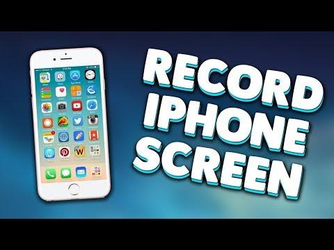 Record iPhone/iPad Screen (Screen Recording Feature and ScreenMo Recorder)