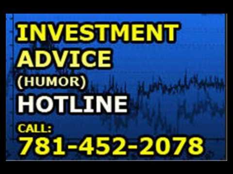 Investment advice hotline