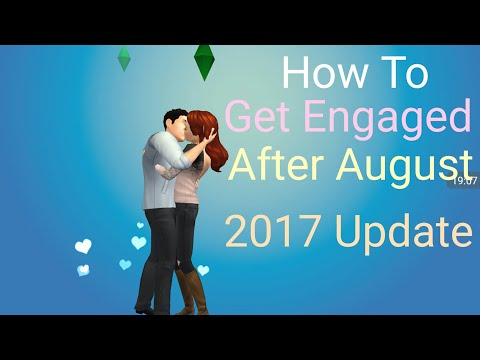 The Sims Mobile - How To Get Engaged + Married After August Update 2017