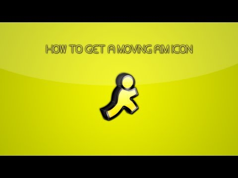 PC Tutorial | How To Get a Moving AIM Icon/Avatar