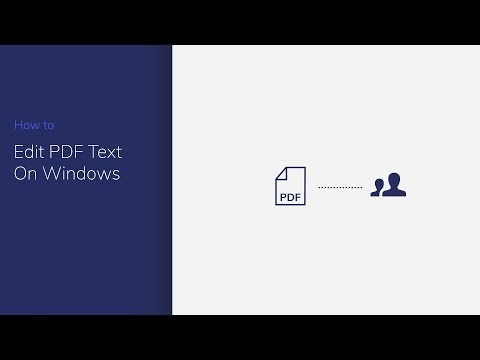 Edit PDF Text on Windows with PDFelement