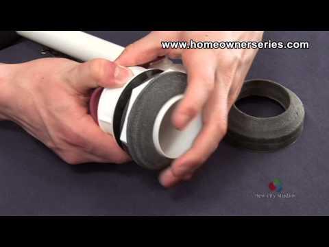 How to Fix a Toilet - Parts - Flush Valve