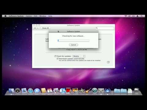 How to Run Mac OS X Software Updates