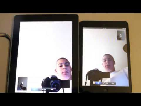 HD Facetime Test iPad mini!
