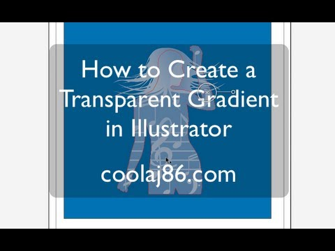 How to Create a Transparent Gradient or Complex Watermark in Illustrator