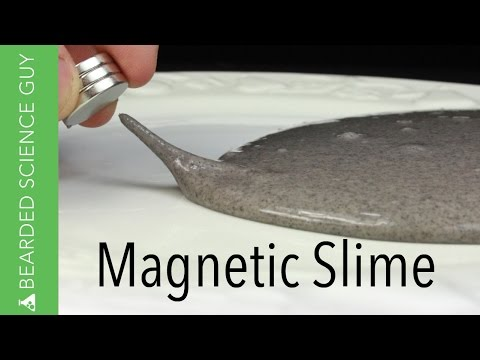 Make Magnetic Slime