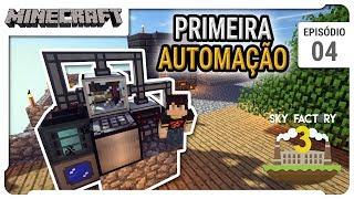 Produção Industrial com Sementes - Minecraft Sky Factory 3