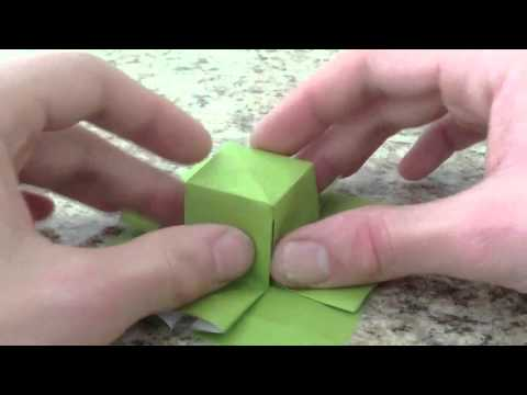 How to fold an Origami Top Hat by Jonathan Graham