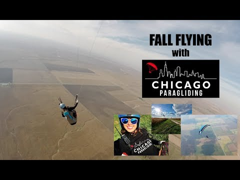 Fall Flying with Chicago Paragliding
