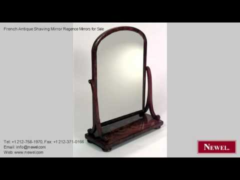 French Antique Shaving Mirror Regence Mirrors for Sale