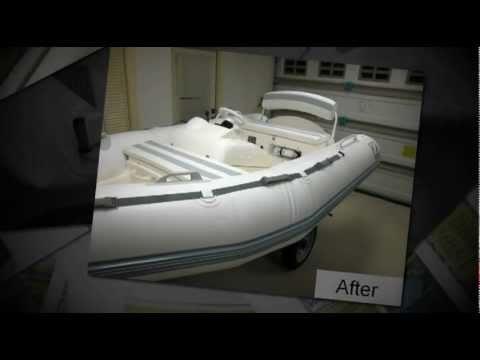 Inflatable Boat Restoration