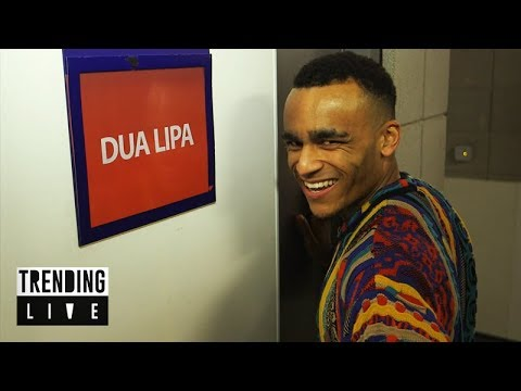 Backstage at The BRITs 2018 | Trending Live