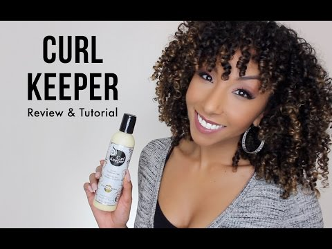 Curl Keeper Styling Cream Review & Tutorial | BiancaReneeToday