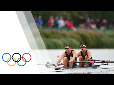 New Zealand Win Men's Double Sculls Final A - London 2012 Olympics