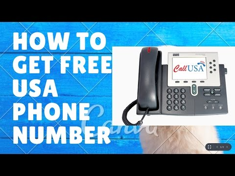How to get free USA phone number FREE 2017