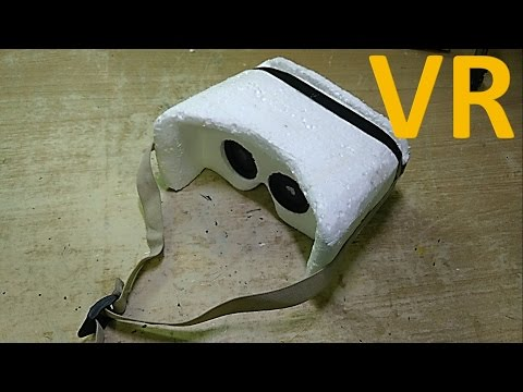 How to make a VR headset using easily available lens