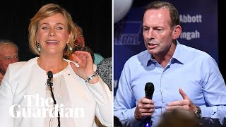 Tony Abbott concedes seat of Warringah: 'I'd rather be a loser than a quitter'