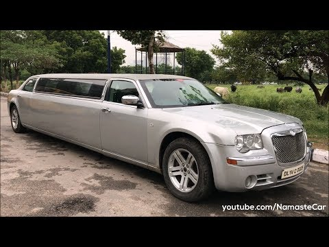 India's rare Chrysler 300C Limousine 2009 | Real-life review