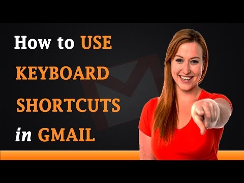 How to Use Keyboard Shortcuts with Gmail