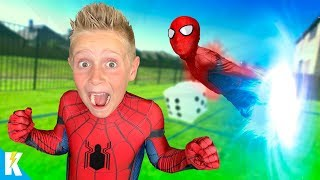 Download SPIDER-MAN Spider-verse GIANT Backyard Board Game for Kids! KIDCITY Video