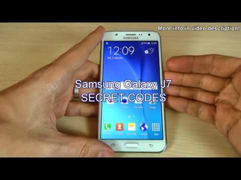 Samsung Galaxy J5 J500F SECRET CODES - Galaxy J5 Engineering