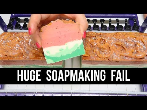 FAILED Watermelon Soap (+ Probably My Worst Batch Ever) | Royalty Soaps