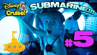 Atlantis SUBMARINE VOYAGE, Mini-Golf & MommyTube Gets HYPNOTIZED!!! Disney Cruise Adventure PART 5
