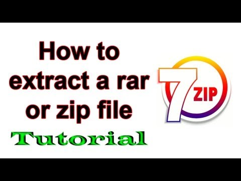 [Tutorial] How to extract a Rar or Zip file - Windows