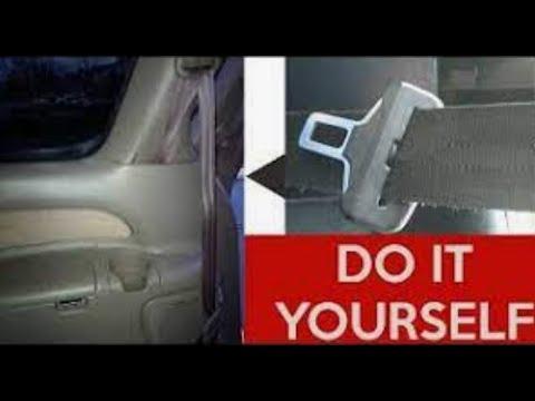 How To Fix Repair a Stuck Seatbelt (Retract Seat Belt Toyota Ford Nissan Honda Dodge Hyundai Kia Car