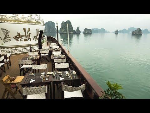 Overnight Luxury Cruise in Ha Long Bay, Vietnam (Best Junk Boat)