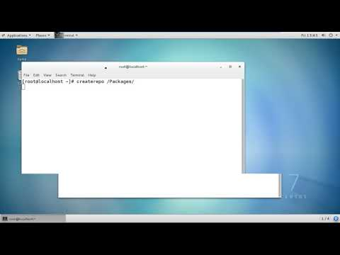 How to configure Yum Server Using Local Directory in CentOS 7,  Redhat 7