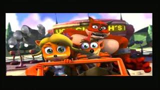 Crash Tag Team Racing PS2 Story Cutscenes - getplaypk