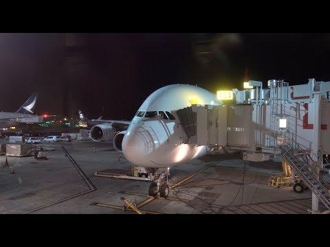 QANTAS Airbus A380 / Los Angeles to Sydney / 4K VIDEO !
