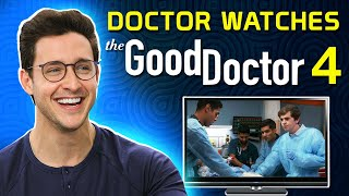 Real Doctor Reacts to THE GOOD DOCTOR #4