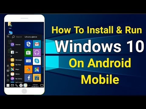 How To Install Windows 10 On Android | Install & Run Any Windows 10/8/7 in android mobile phone💥