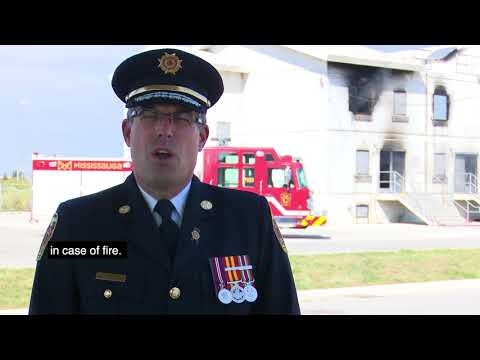 Fire Prevention Week 2017: Mississauga Fire and Emergency Services - Chief