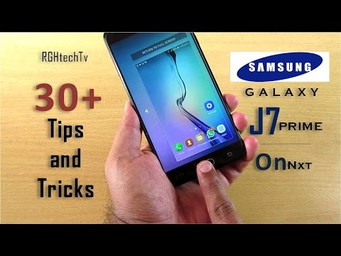 30+ Samsung Galaxy j7 prime (On Nxt) Tips and Tricks | Features | Software Walkthrough