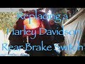 Harley Rear Brake Switch Replacement