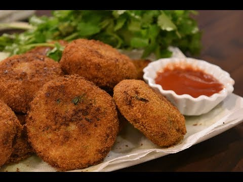 Soya Cutlet Recipe | How to Make Soya Cutlet | Soya Patties