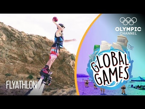 Flyathlon - Olympians vs Influencers | The Global Games