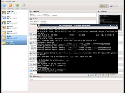 Memory assigned in Virtual Box influences the Linux Kernel