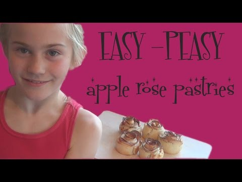 EASY & FUN apple rose pastry recipe PERFECT for AUTUMN - Vintagious