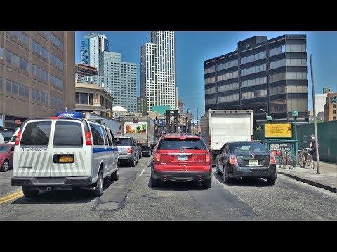 Driving Downtown - Brooklyn 4K - New York City USA