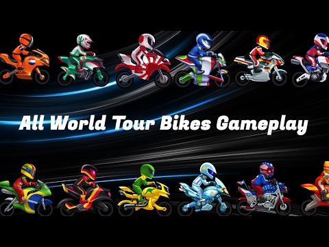 BikeRaceTFG | All World Tour Bikes Gameplay!