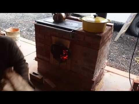 Cabin Stove 2.0 Prototype Video