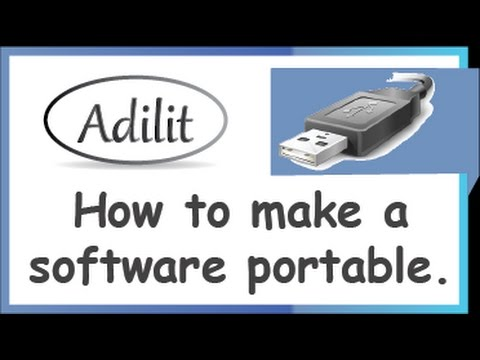 How to make  a software portable