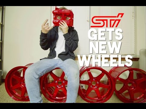 HOW TO: Get Your Wheels POWDERCOATED!