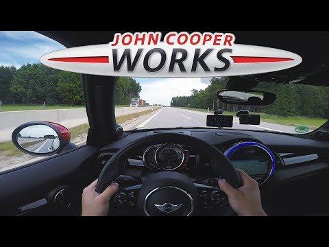 2017 MINI John Cooper Works (231Hp) TOP SPEED on Autobahn ✔