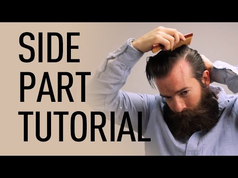 Side Parted Men's Hairstyle | Jeff Buoncristiano