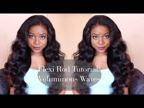 FLEXI ROD TUTORIAL | Voluminous Waves